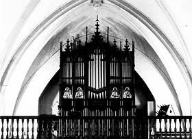 Orgel im Jahr 1893