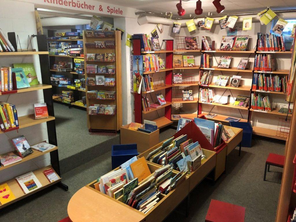 Innenansicht Bücherei St. Ida